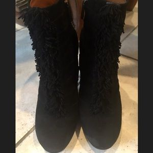 Authentic Black Gucci Booties